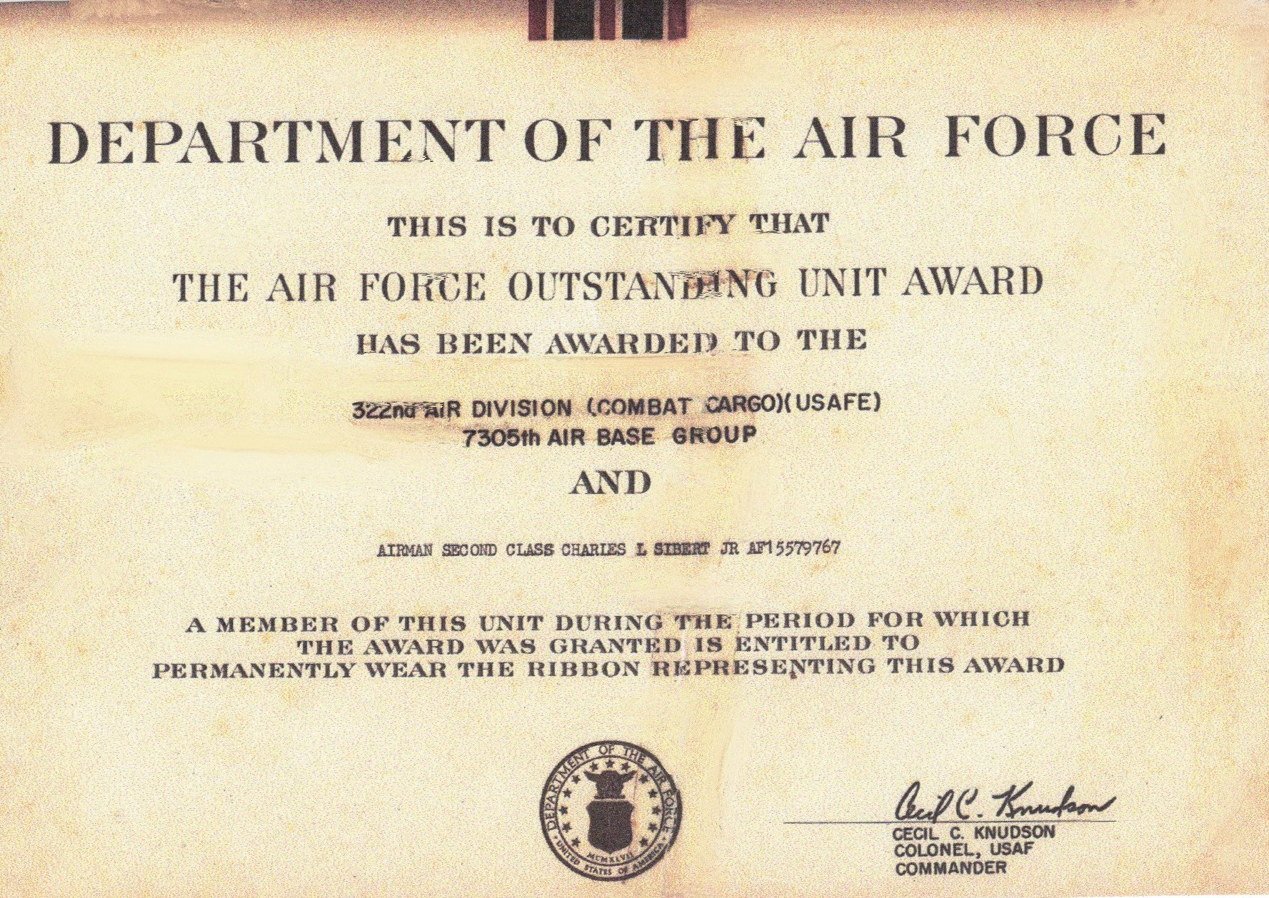 writing a letter of recommendation usaf loadmaster